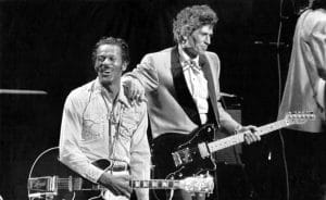 Chuck Berry y Keith Richards