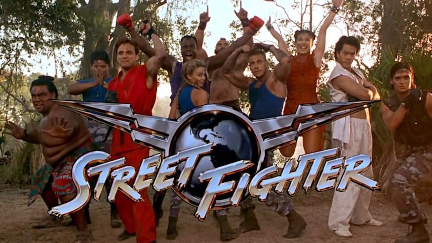 Street Fighter Jean Claude Van Damme