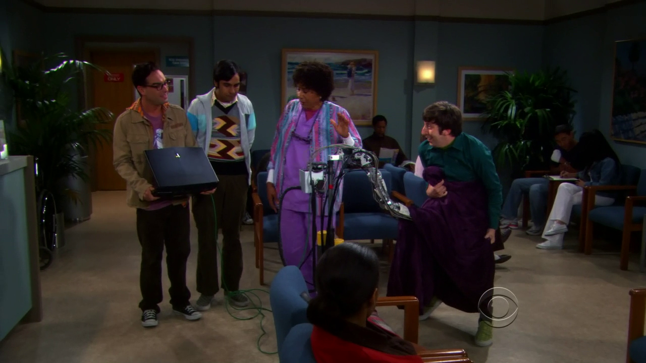 The Big Bang Theory The Robotic Manipulation