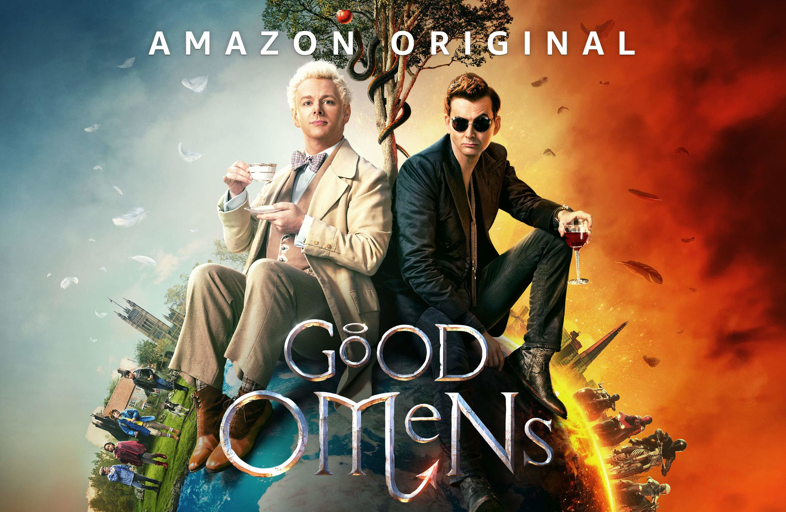Good Omens (Prime Video): una hilarante serie de culto