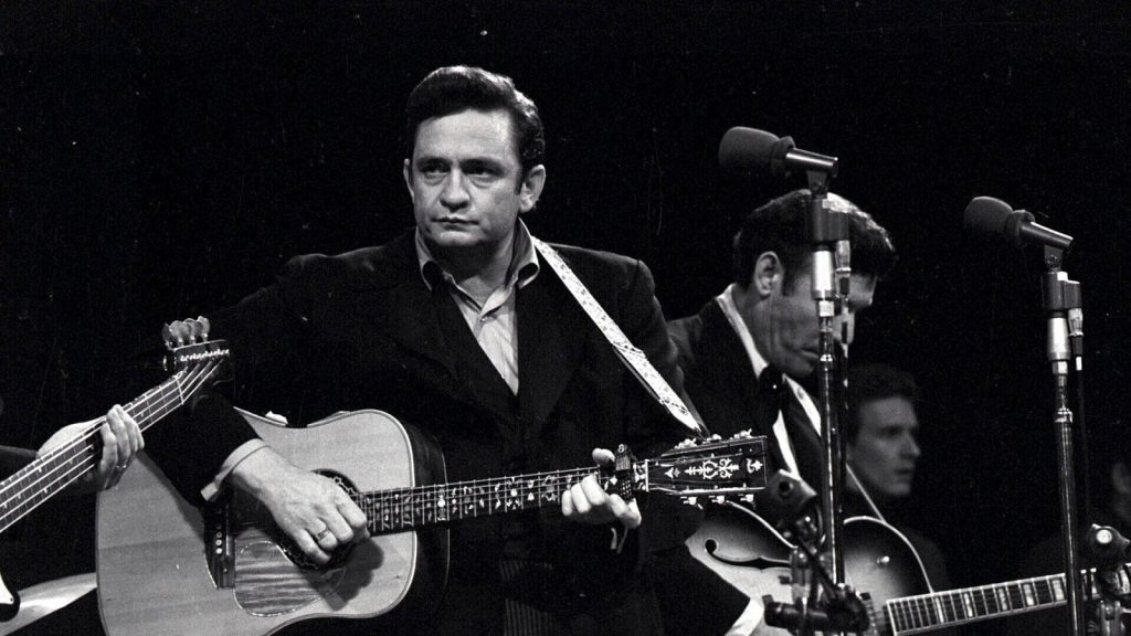 Johnny Cash en concierto